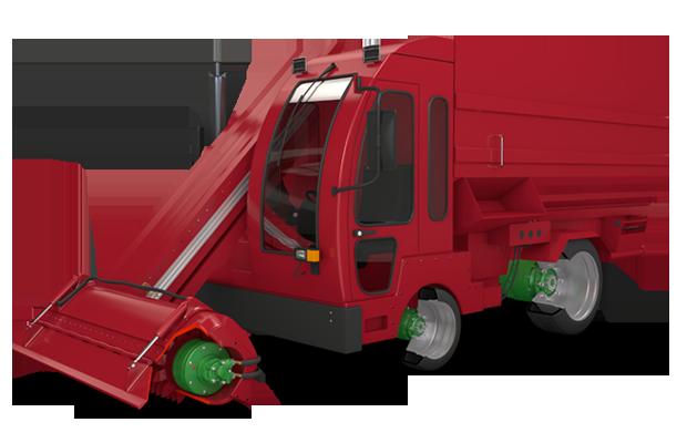 Feed Mixer - SAI SPA | Hydraulic Motors - Radial Piston Motor